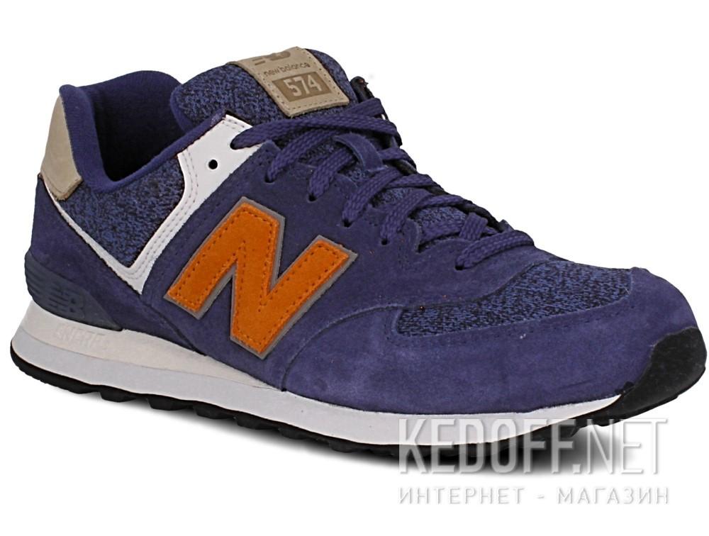 Купить Кроссовки New Balance ML574VAK унисекс   (синий/серый)