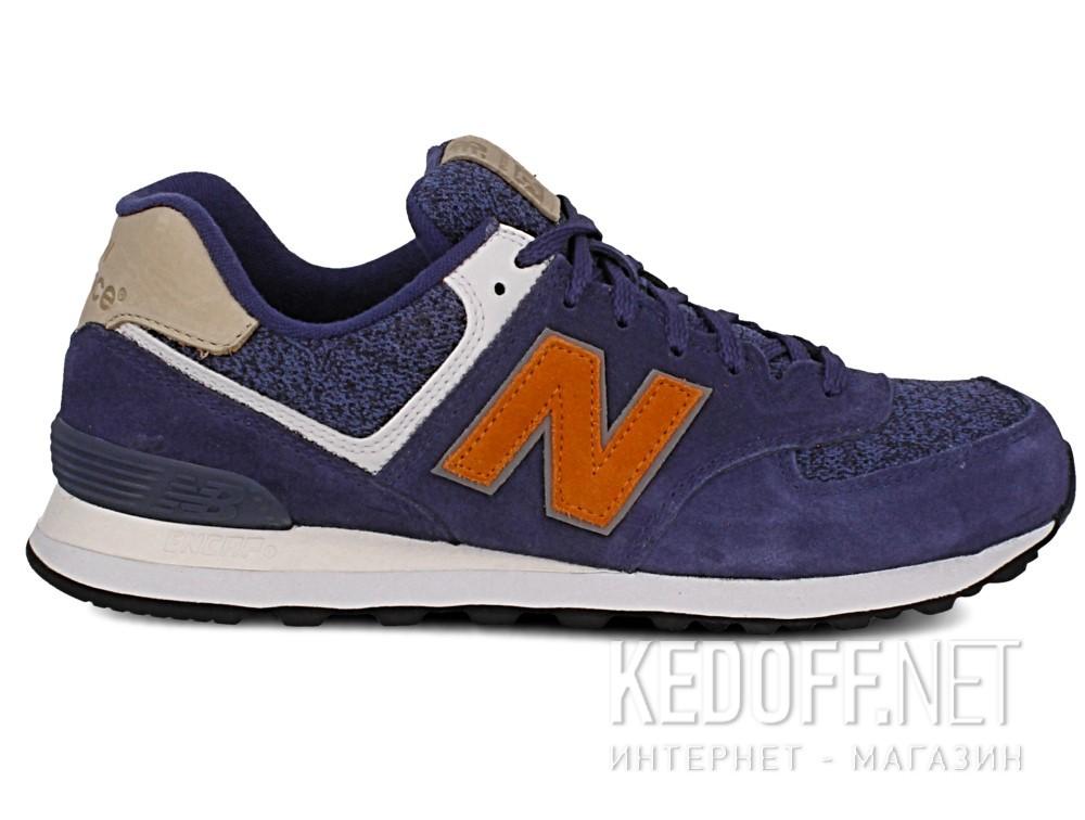 Кроссовки New Balance ML574VAK унисекс   (синий/серый) купить Украина
