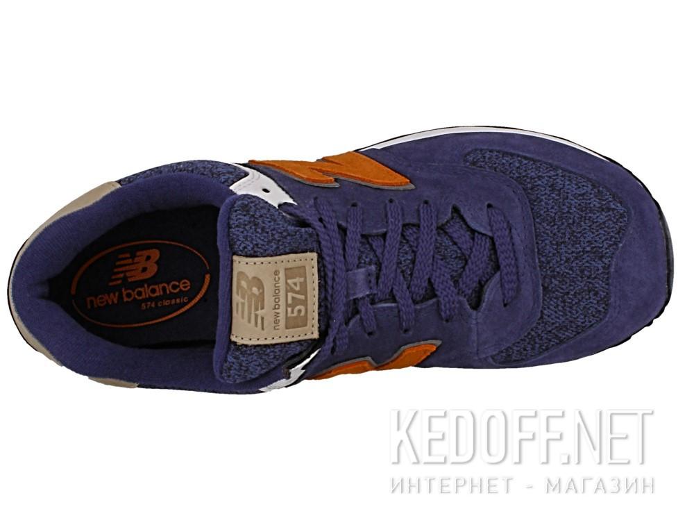 Кроссовки New Balance ML574VAK унисекс   (синий/серый) описание
