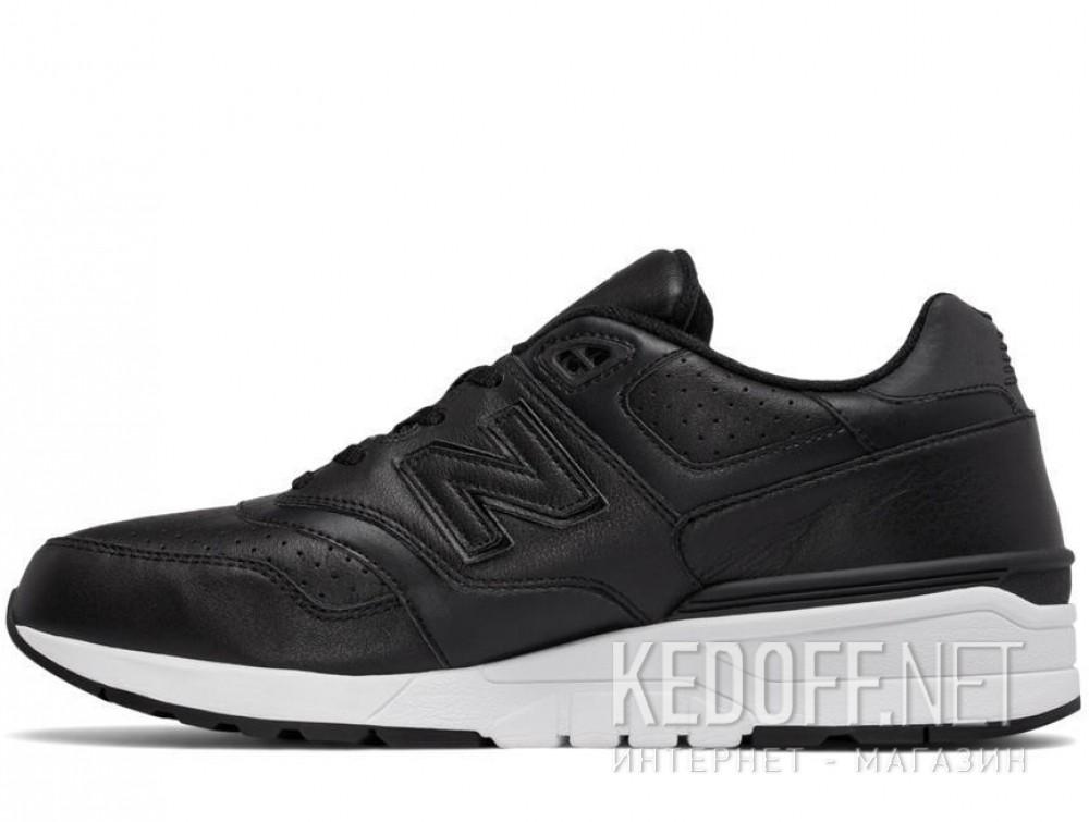 Оригинальные Мужские кроссовки New Balance Ml597bll   (чёрный)