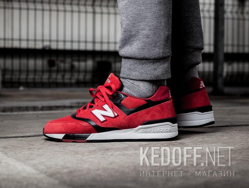 Спортивная обувь New Balance ML597GSB унисекс   (малиновый/красный)