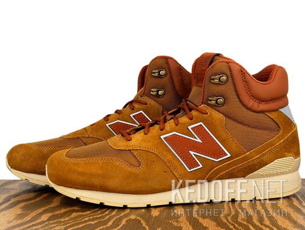 Мужские ботинки New Balance MRH996BR   описание