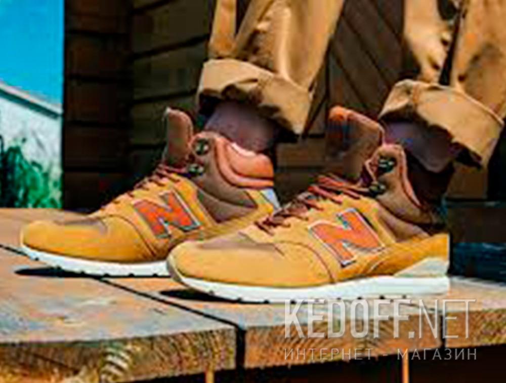 Мужские ботинки New Balance MRH996BR   все размеры