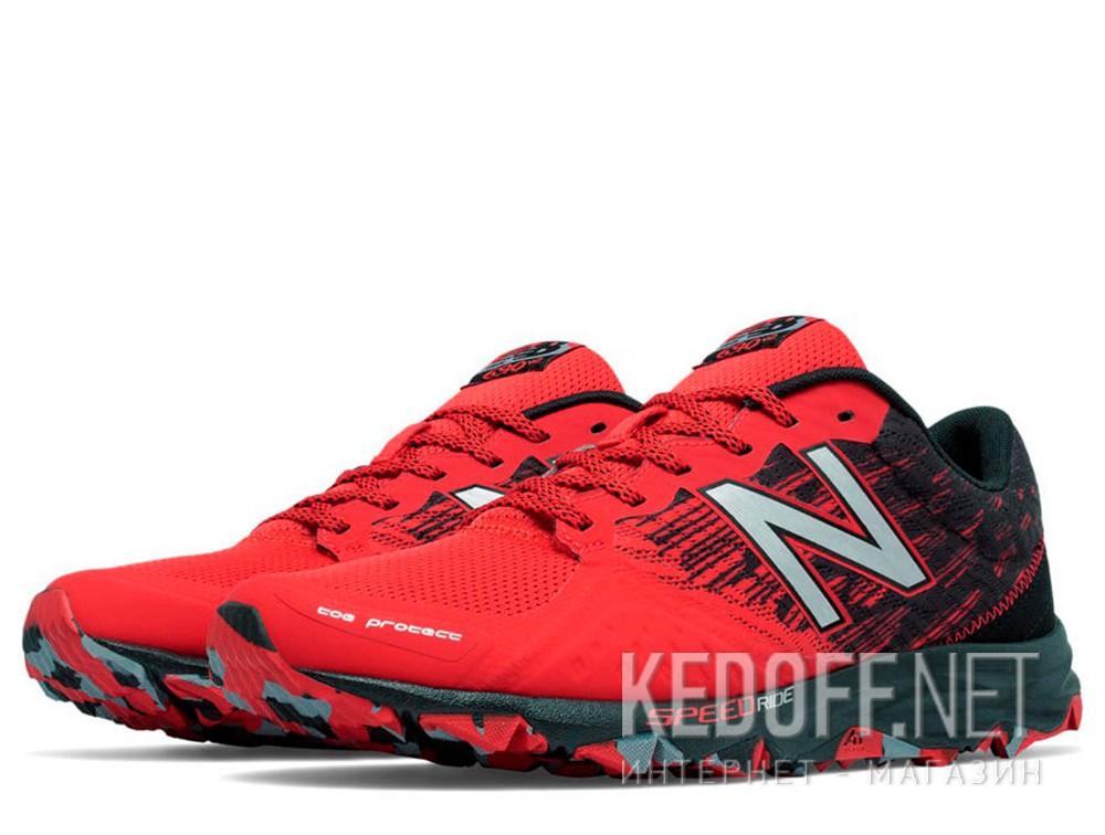 Мужские кроссовки New Balance MT690lA2 (чёрный/красный) купить Киев
