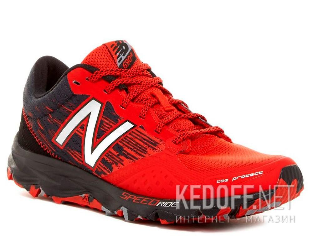 Купить Кроссовки New Balance MT690lA2 унисекс   (чёрный/красный)