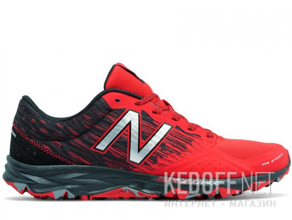 Мужские кроссовки New Balance MT690lA2 (чёрный/красный) купить Украина