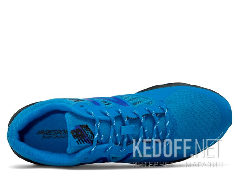 Мужские кроссовки New Balance Trail MT690RE2   (синий) все размеры
