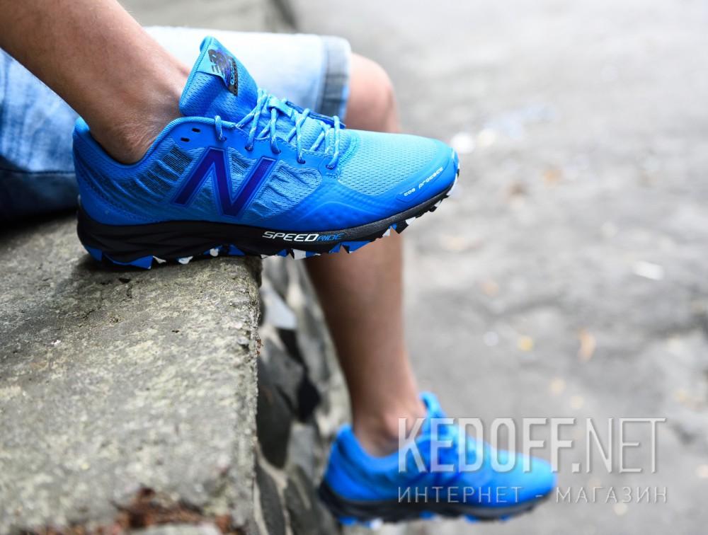 Мужские кроссовки New Balance Trail MT690RE2   (синий)