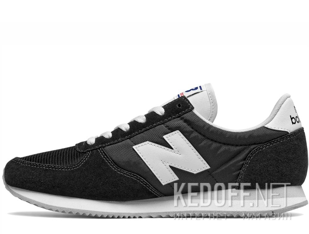 Мужские кроссовки New Balance U220BK   (чёрный) купить Киев