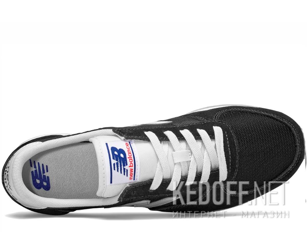Оригинальные Мужские кроссовки New Balance U220BK   (чёрный)