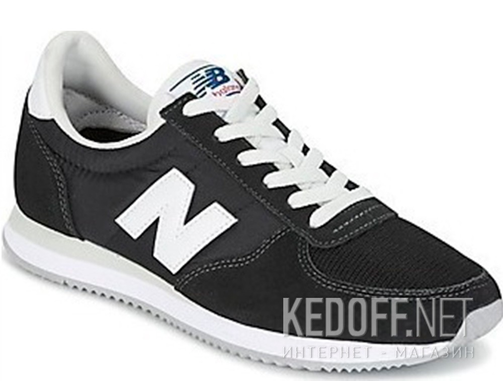 Купить Мужские кроссовки New Balance U220BK   (чёрный)