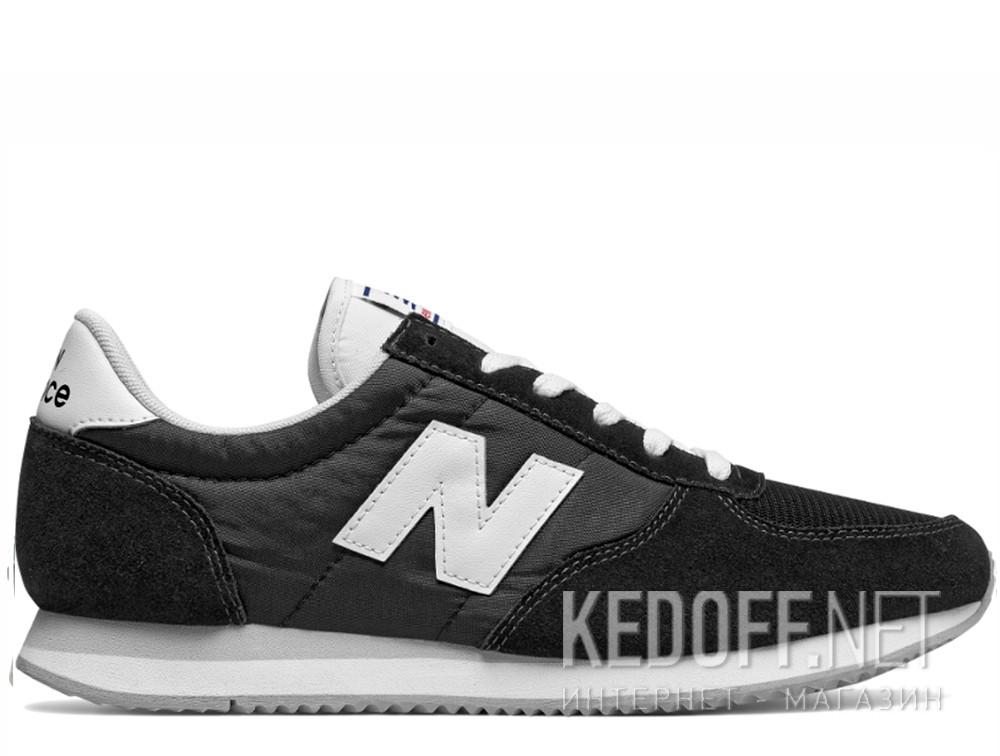 Мужские кроссовки New Balance U220BK   (чёрный) купить Украина