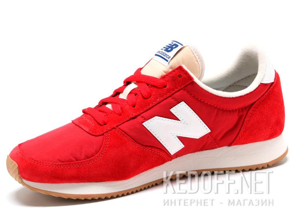 Мужские кроссовки New Balance U220RD   (красный) купить Украина