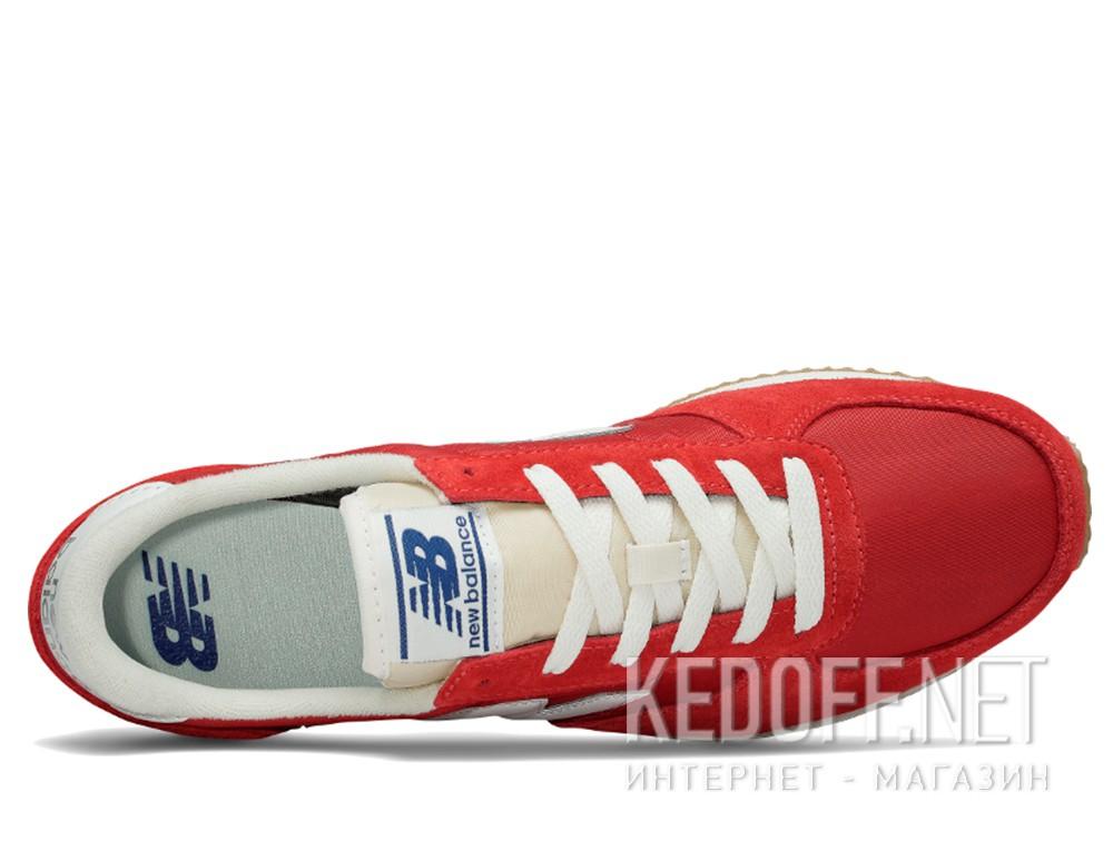 Оригинальные Мужские кроссовки New Balance U220RD   (красный)