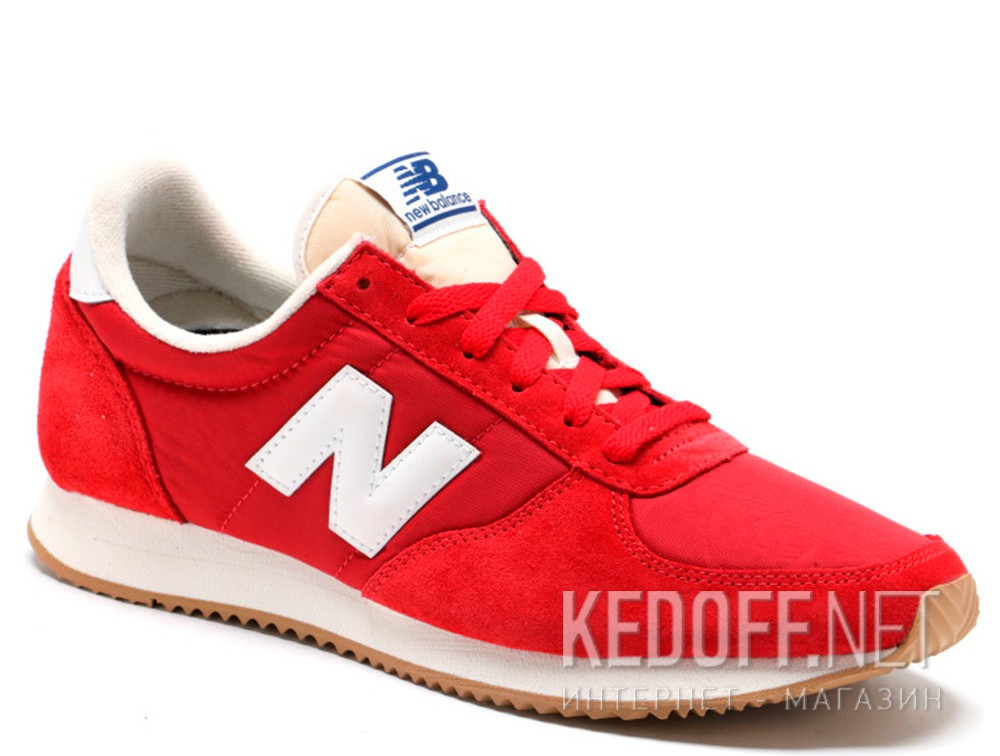 Купить Мужские кроссовки New Balance U220RD   (красный)
