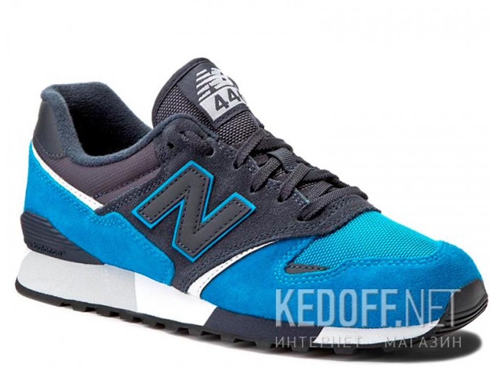 Купить Кроссовки New Balance U446LBW унисекс   (тёмно-синий/голубой/синий)