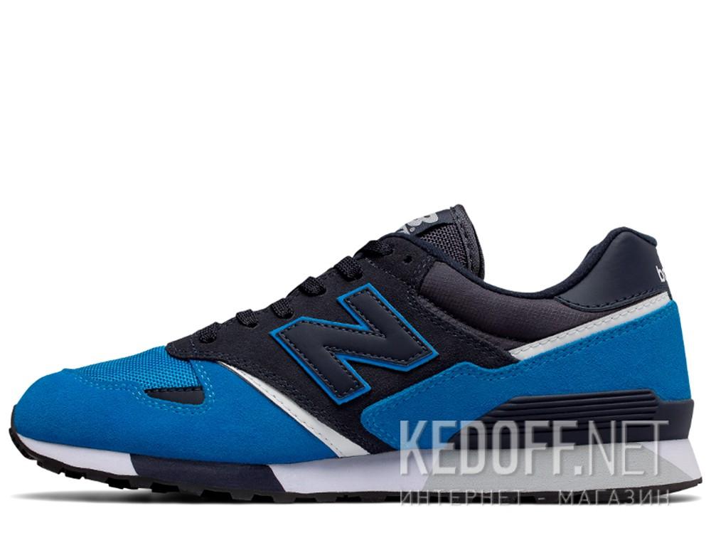 Оригинальные Кроссовки New Balance U446LBW унисекс   (тёмно-синий/голубой/синий)