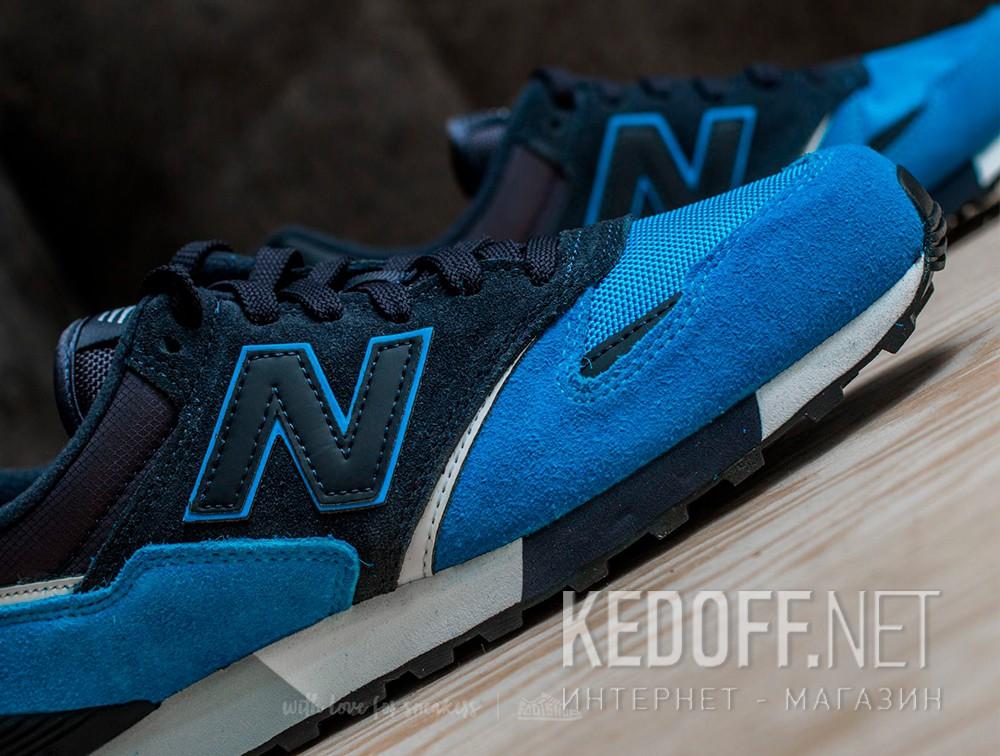 Доставка Кроссовки New Balance U446LBW унисекс   (тёмно-синий/голубой/синий)