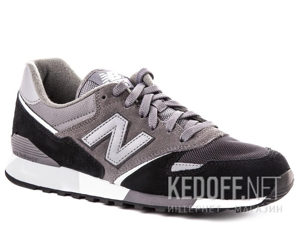 Купить Кроссовки New Balance U446LGK унисекс   (тёмно-серый/чёрный/серый)