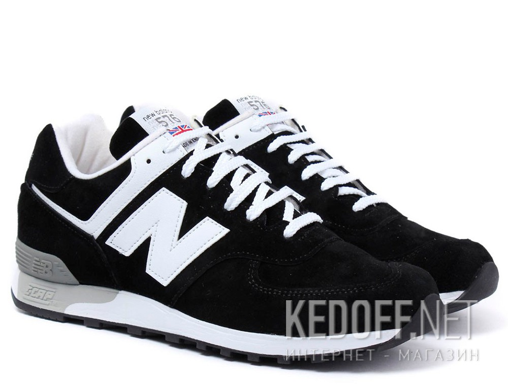 Кроссовки New Balance W576KGS Made in England унисекс (чёрный) в ... 63213e28736