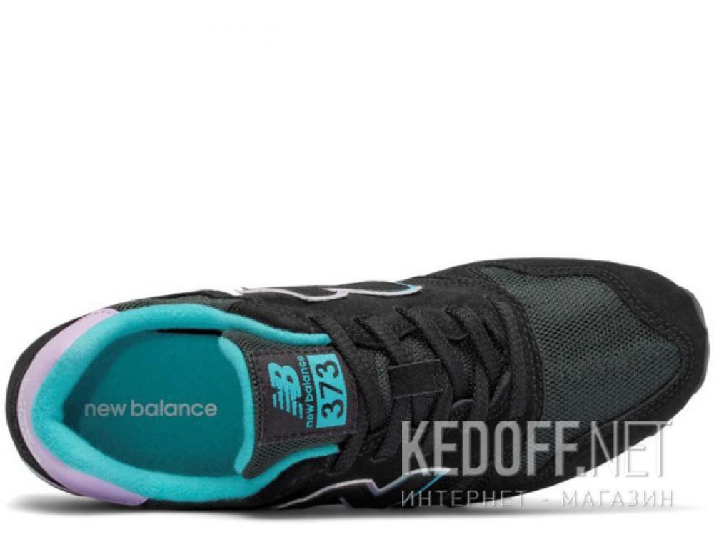 Кроссовки New Balance WL373GD унисекс   (фиолетовый/чёрный) описание