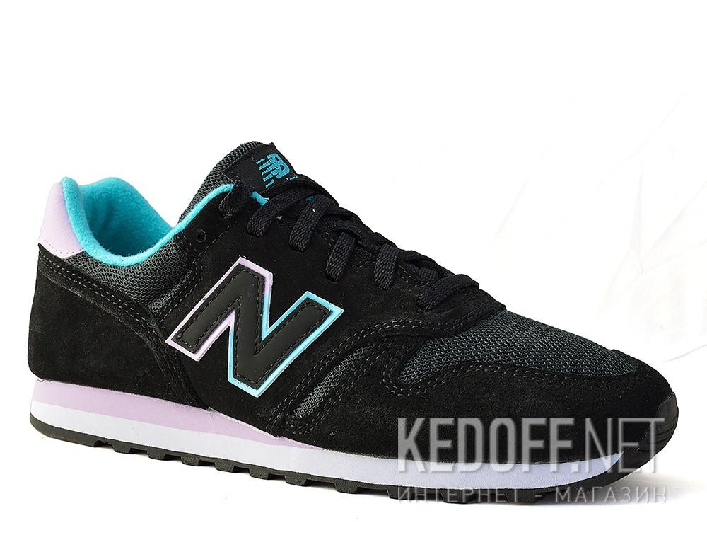 Купить Кроссовки New Balance WL373GD унисекс   (фиолетовый/чёрный)