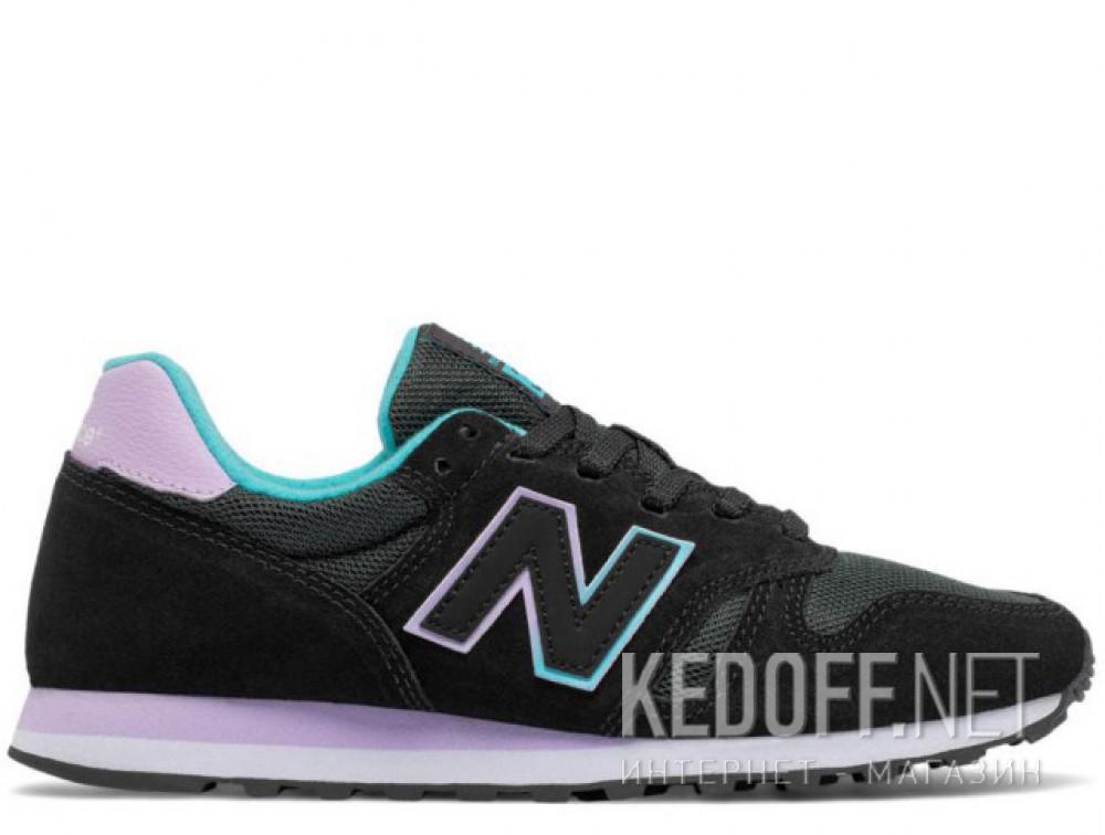 Кроссовки New Balance WL373GD унисекс   (фиолетовый/чёрный) купить Украина