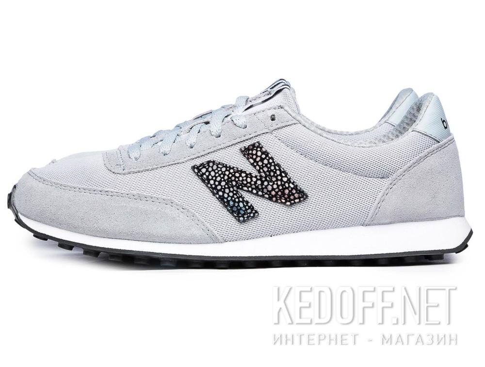 Женские кроссовки New Balance WL410BU (серый) купить Киев