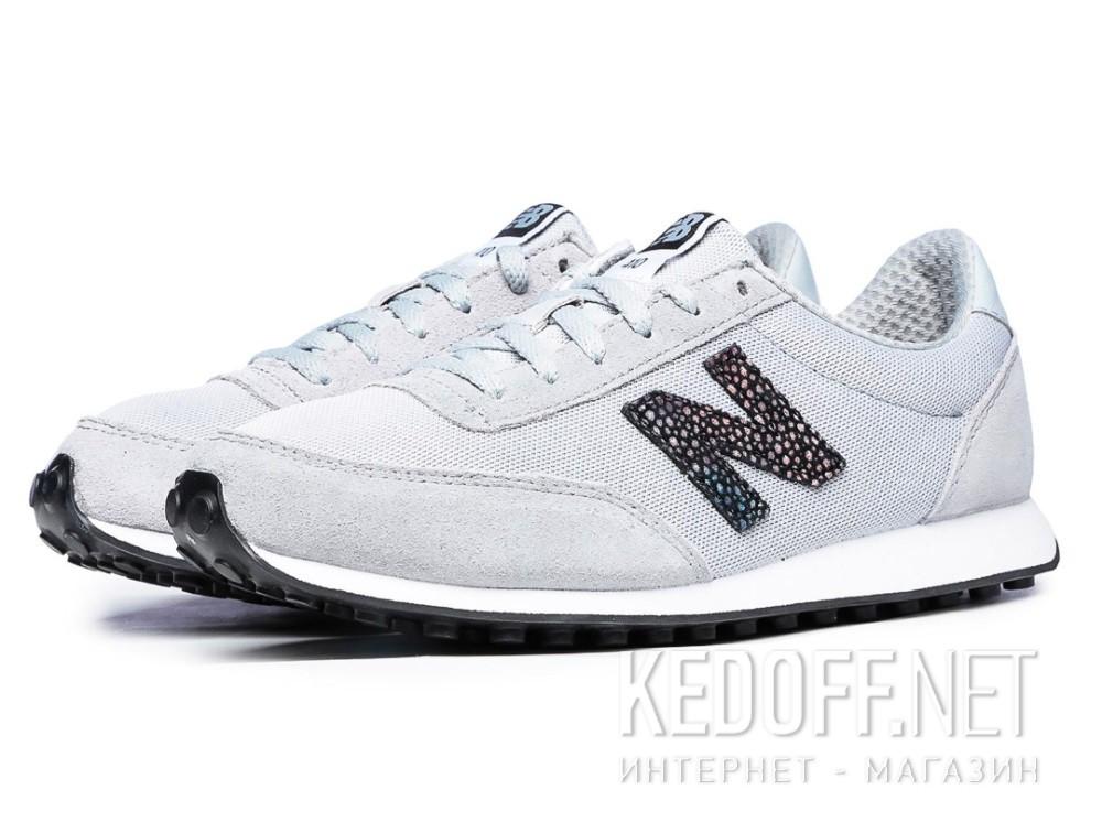 Оригинальные Женские кроссовки New Balance WL410BU (серый)