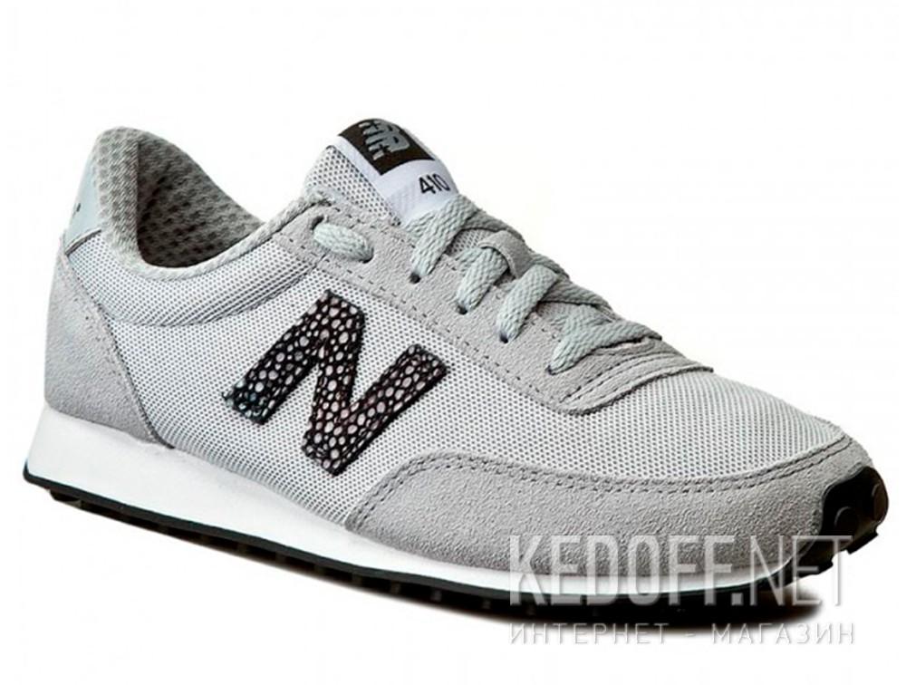 Купить Женские кроссовки New Balance WL410BU (серый)