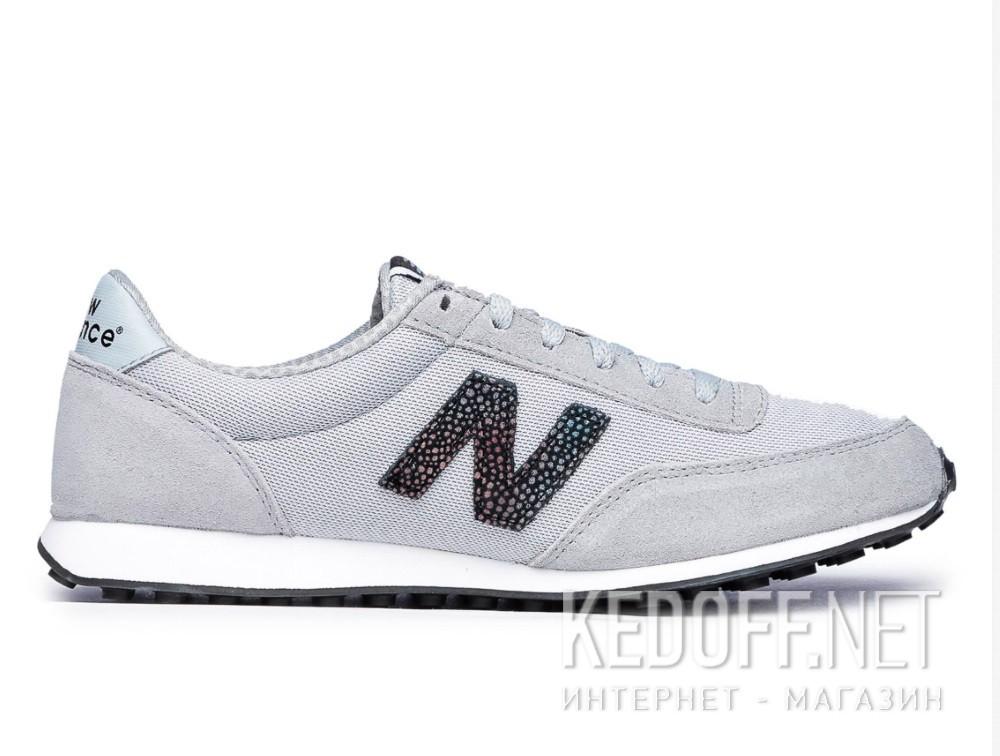 Женские кроссовки New Balance WL410BU (серый) купить Украина