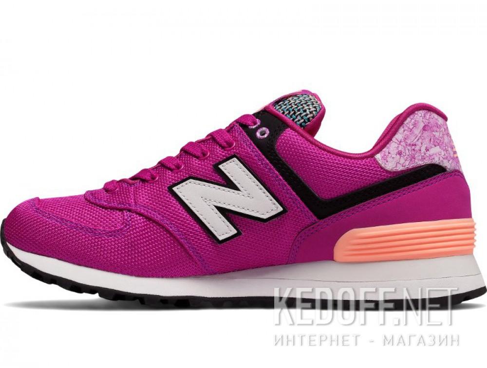Женские кроссовки New Balance Wl574asd  (фиолетовый) купить Киев