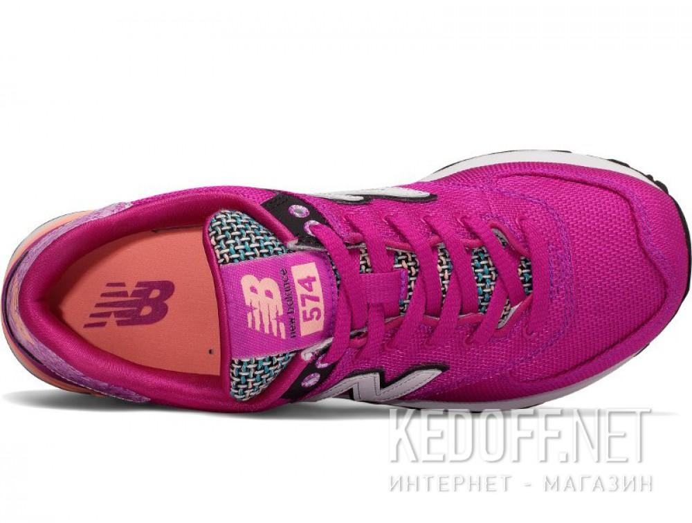 Оригинальные Женские кроссовки New Balance Wl574asd  (фиолетовый)