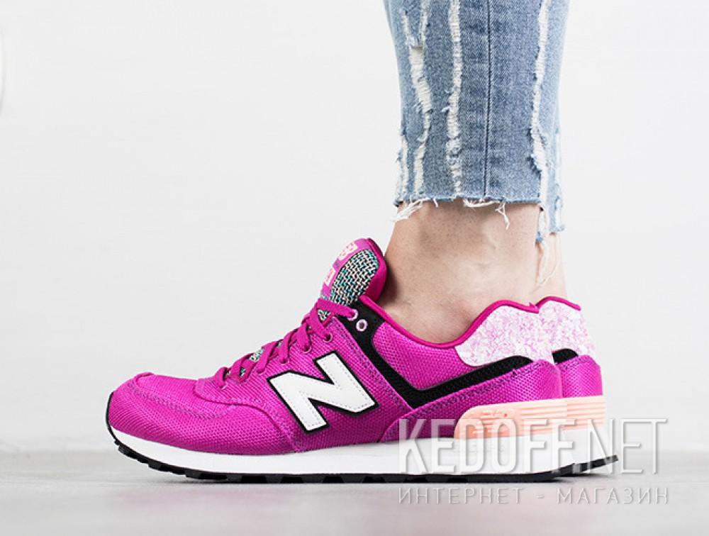 Цены на Женские кроссовки New Balance Wl574asd  (фиолетовый)