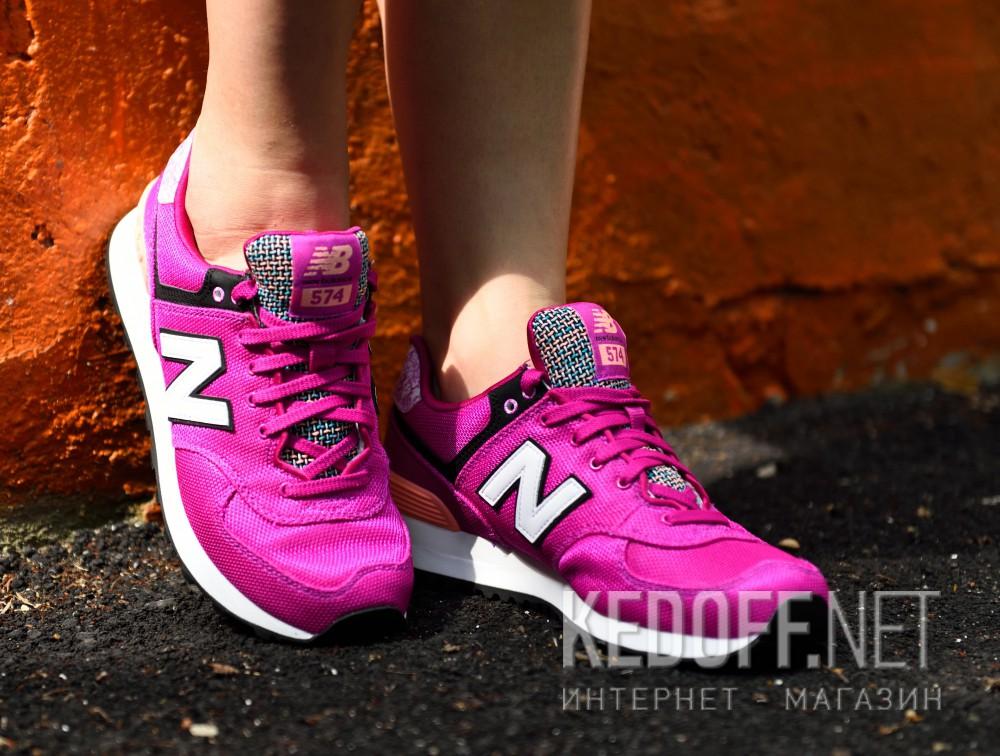 Женские кроссовки New Balance Wl574asd  (фиолетовый) все размеры
