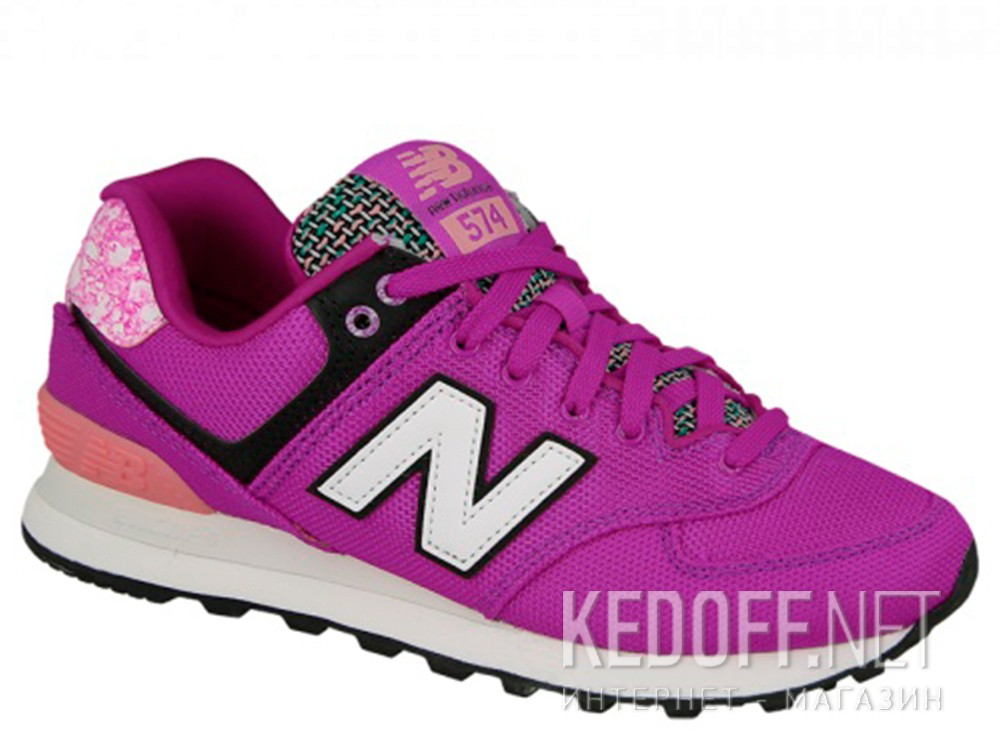 Купить Женские кроссовки New Balance Wl574asd  (фиолетовый)