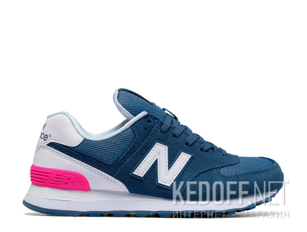 Кроссовки New Balance WL574CNB унисекс   (синий)