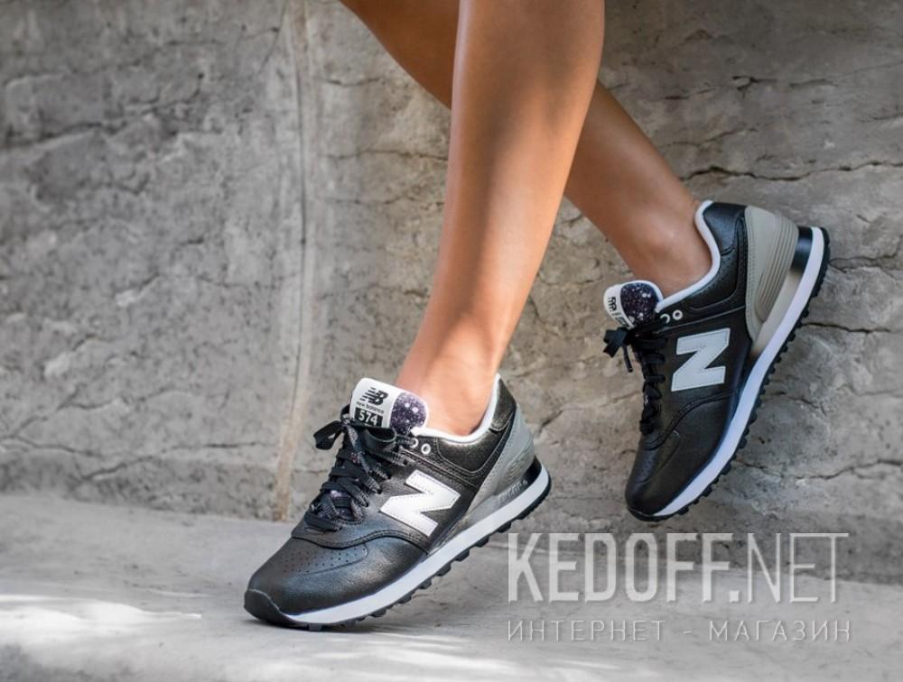 Женские кроссовки New Balance WL574RAA    (чёрный/серый) все размеры