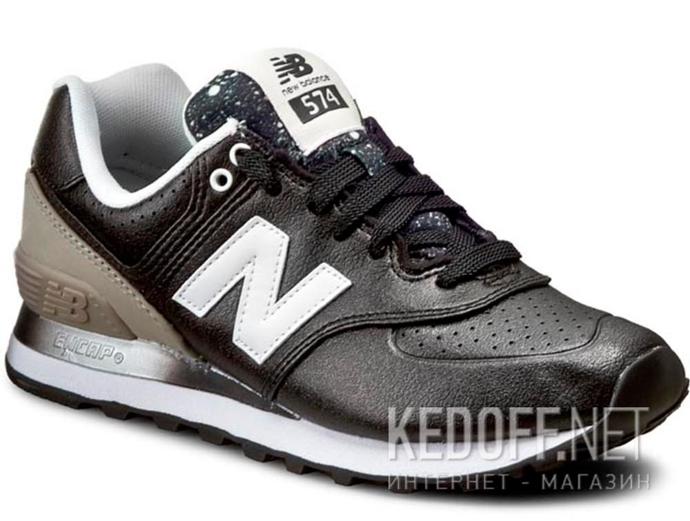 Купить Женские кроссовки New Balance WL574RAA    (чёрный/серый)