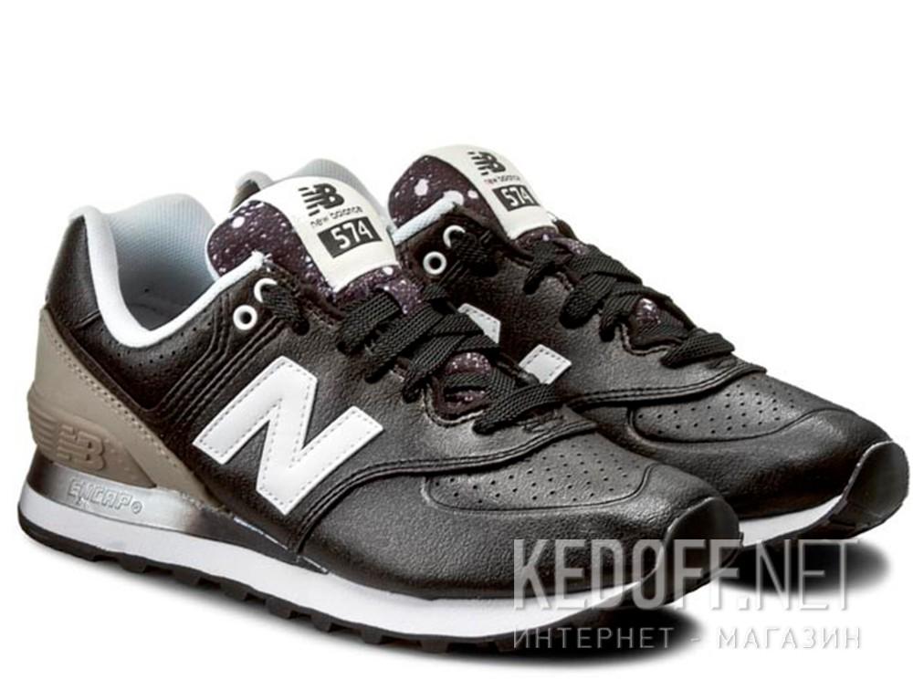 Женские кроссовки New Balance WL574RAA    (чёрный/серый) купить Украина