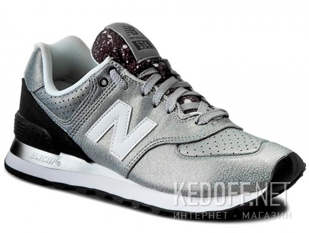 Купить Кроссовки New Balance WL574RAC   (серебряный)