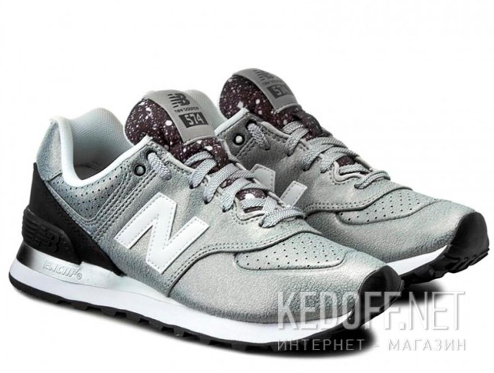 Кроссовки New Balance WL574RAC   (серебряный) купить Украина