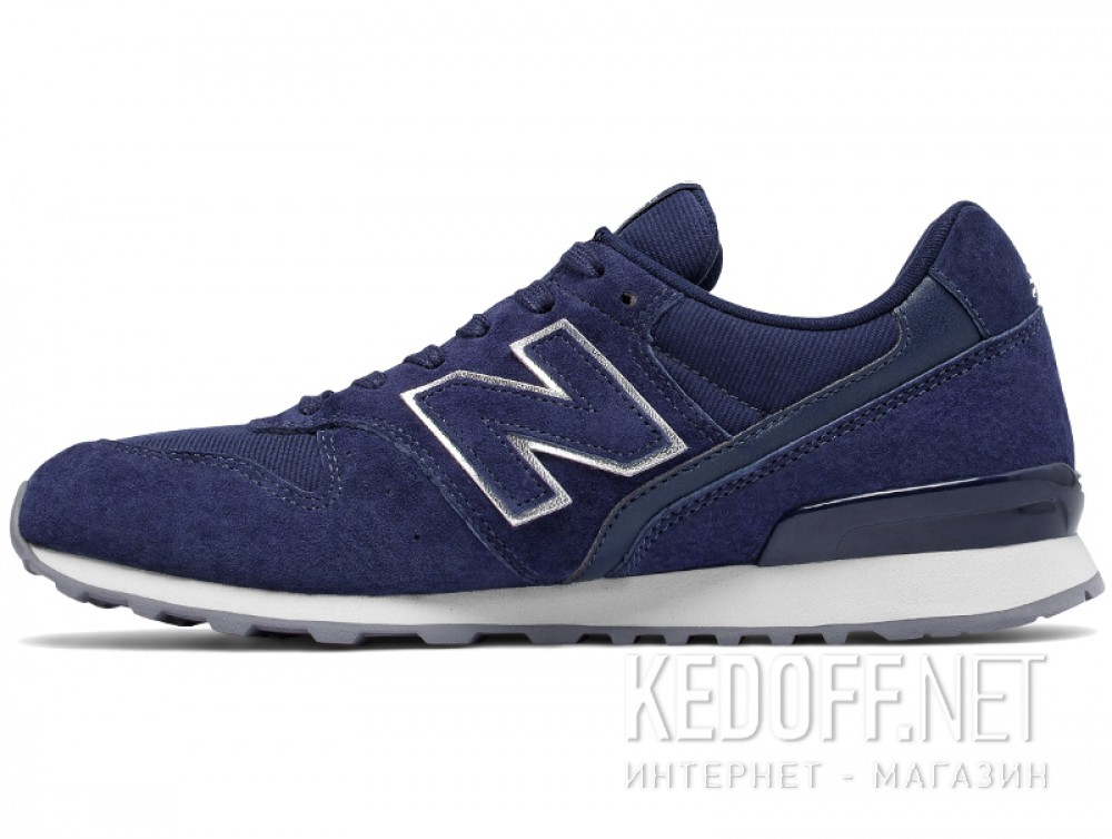 Оригинальные Женские кроссовки New Balance WR996HT (тёмно-синий)