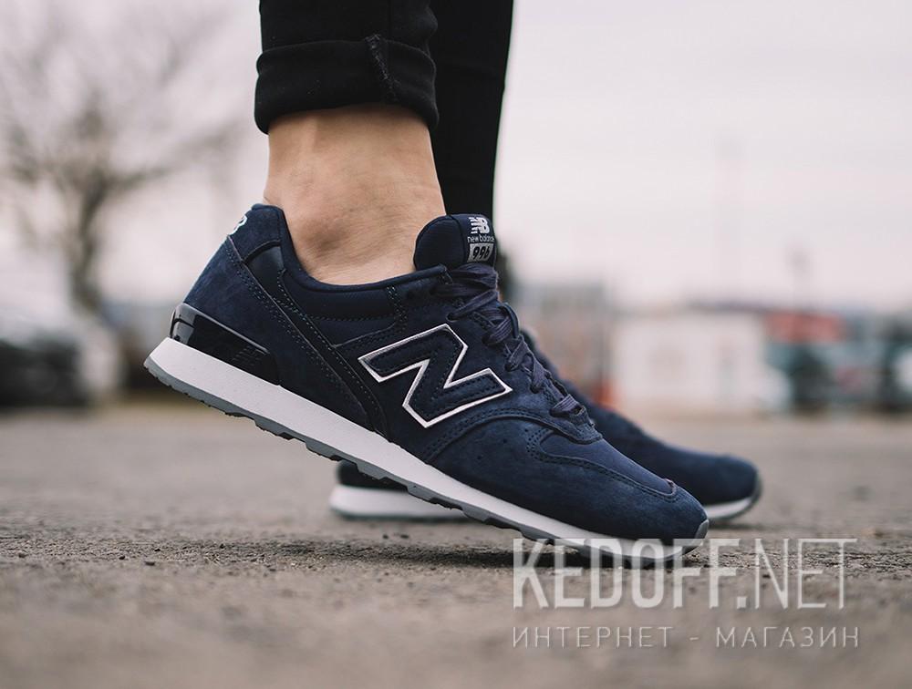 Женские кроссовки New Balance WR996HT (тёмно-синий) все размеры