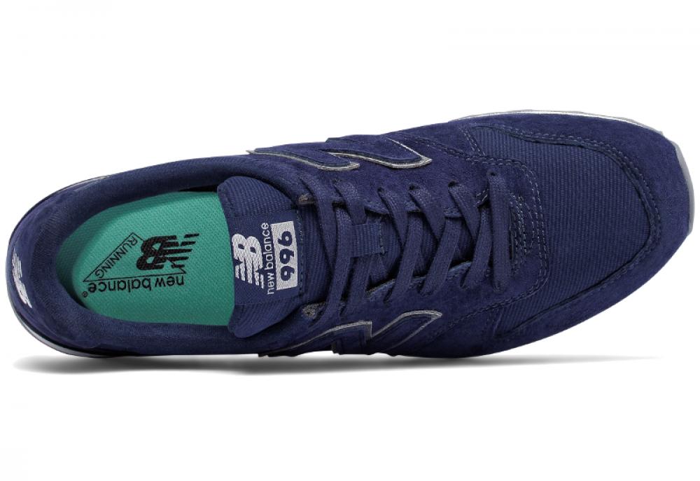 Женские кроссовки New Balance WR996HT (тёмно-синий) описание