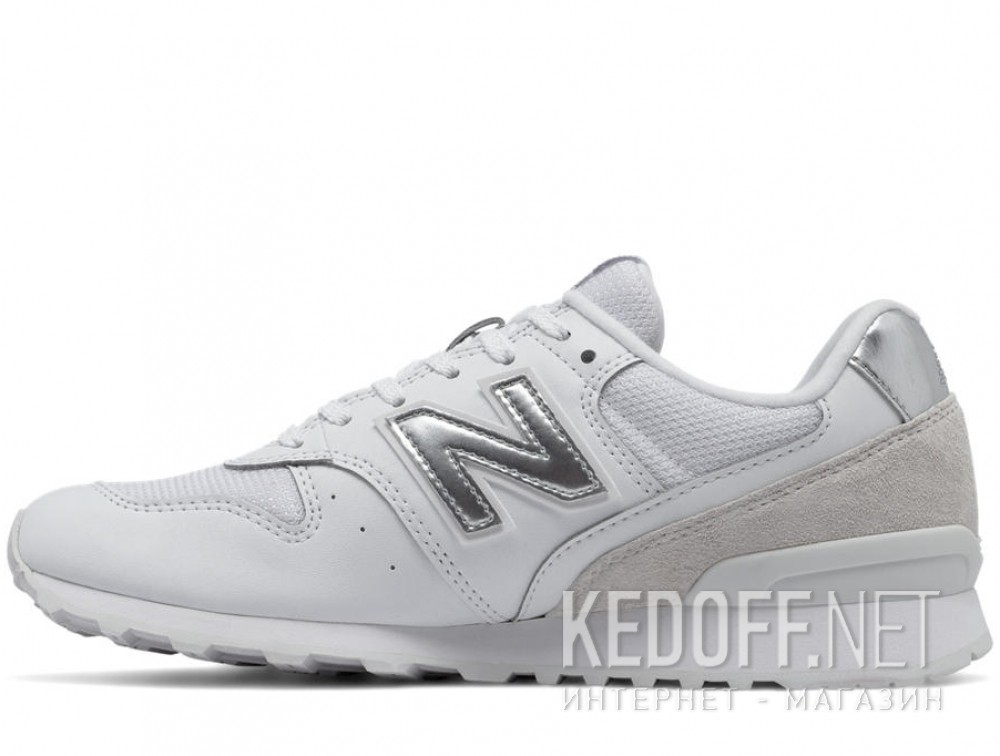 Оригинальные Текстильная обувь New Balance Wr996wm унисекс   (белый)