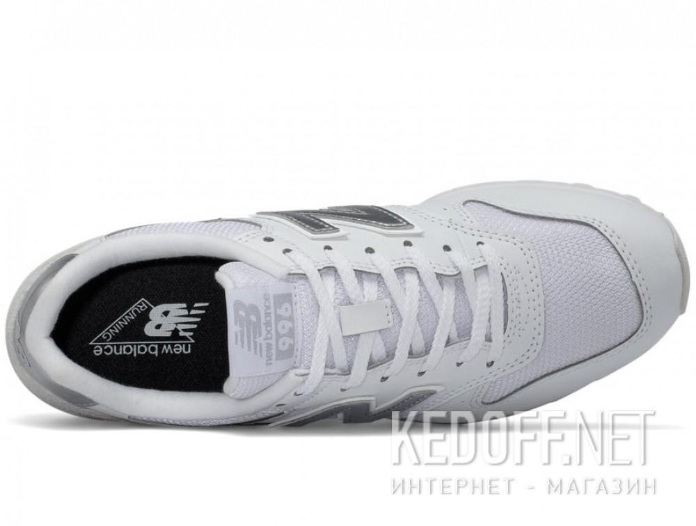 Текстильная обувь New Balance Wr996wm унисекс   (белый) описание