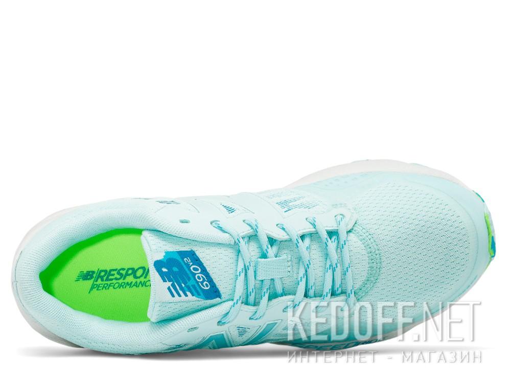 Оригинальные Женские кроссовки New Balance WT690RO2   (бирюзовый)
