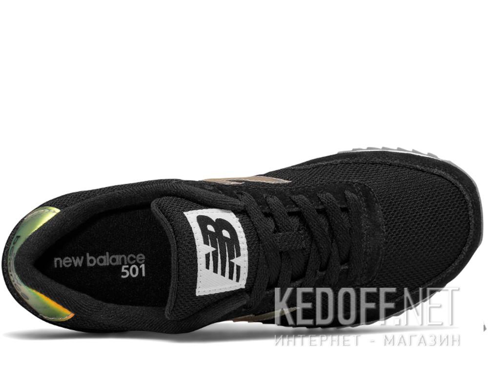 Женские кроссовки New Balance WZ501RM    (золотистий/чёрный) описание