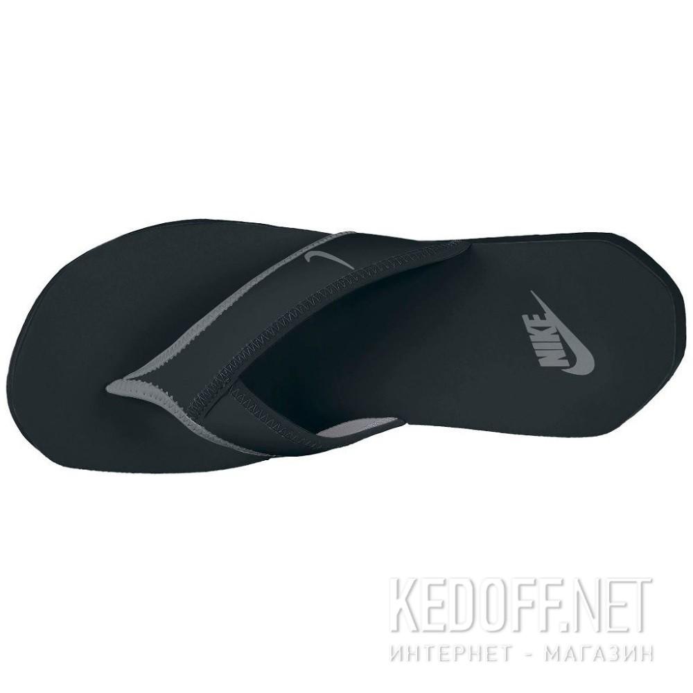 Сланцы и шлепанцы Nike 307812-018 унисекс   (чёрный/серый) купить Киев